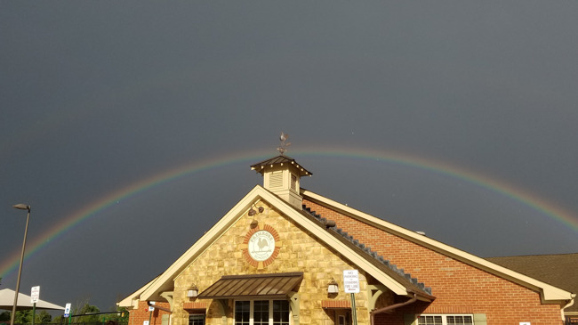 Rainbows over our School