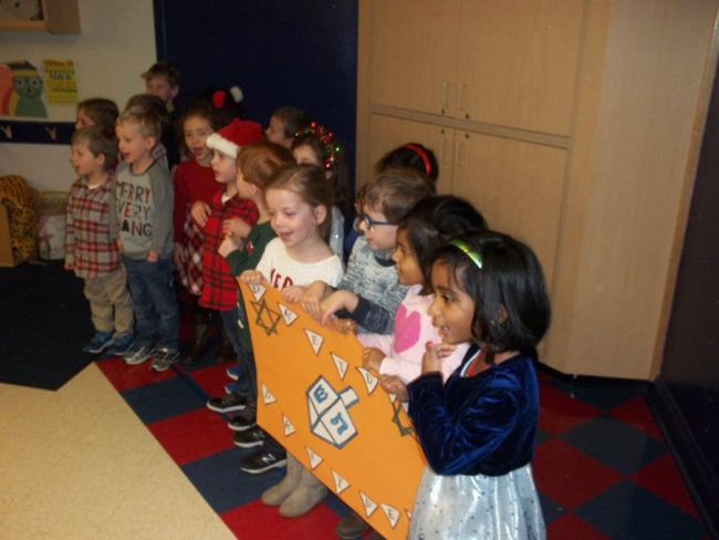 Pre-K Holiday Performance