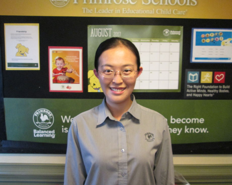 Qing (Tina) Tian, Pre-Kindergarten Teacher
