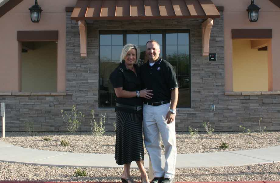 Franchise Owners of Primrose School Greg and Heather Legeza