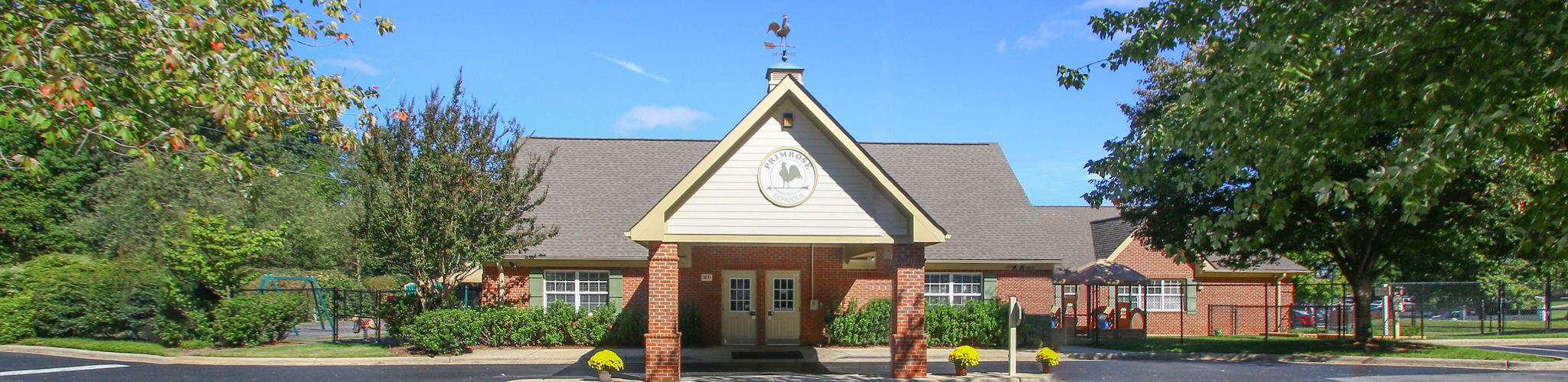 Exterior of a Primrose School of Brassfield