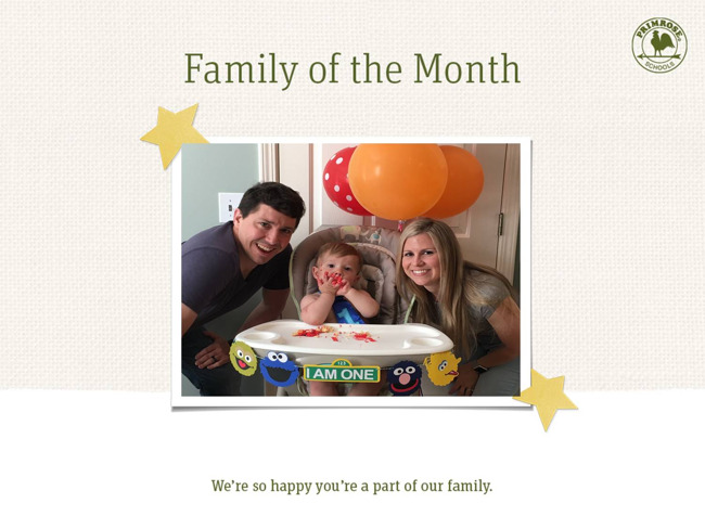The Hanson's, family of the month