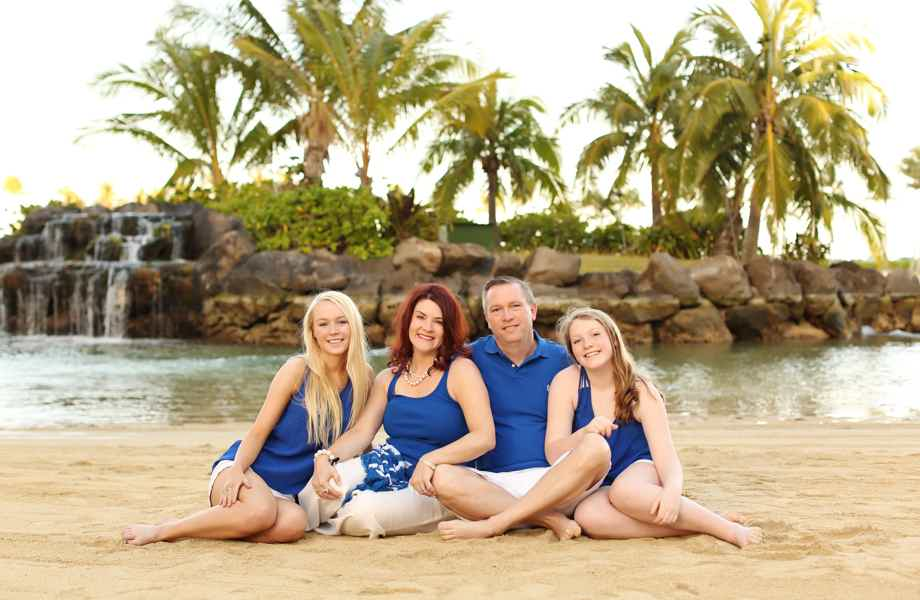 Franchise Owners of Primrose School Paul and Kamela Niemyski with their family