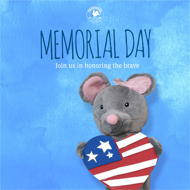 We are closed on Monday, May 28 for the Memorial Day Holiday