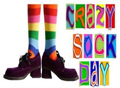 Fun Friday-Crazy Sock Day!