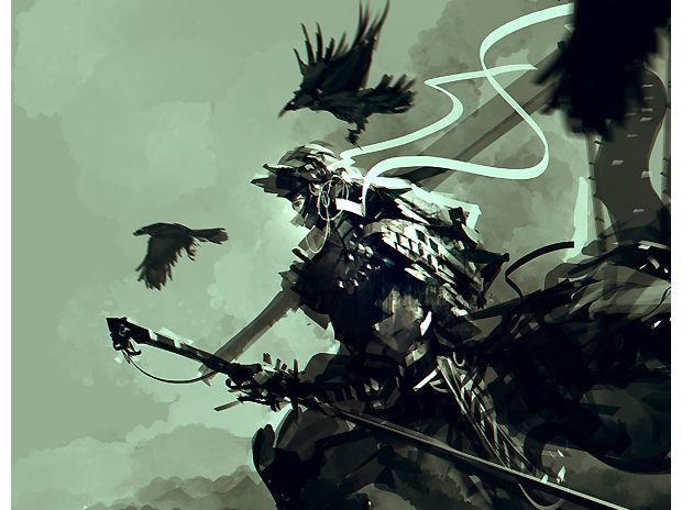 Samurai Crow