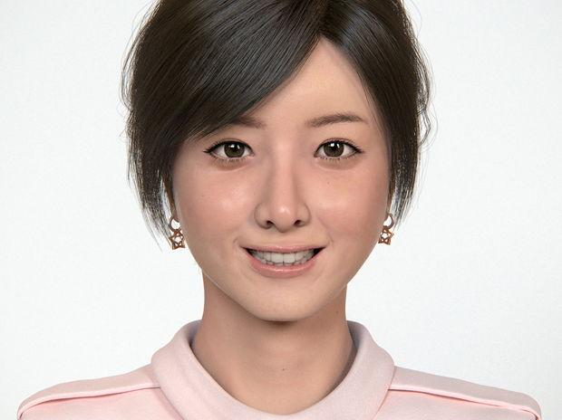 Actress, Realistic Portrait A