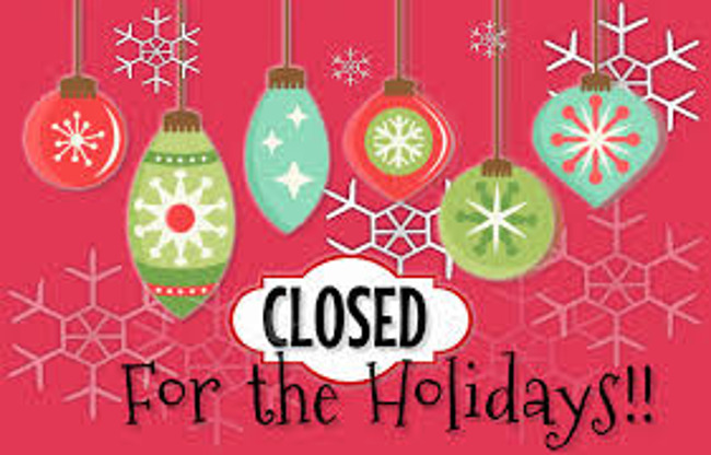 Primrose will be closed in Observance of Christmas Monday December 25th!