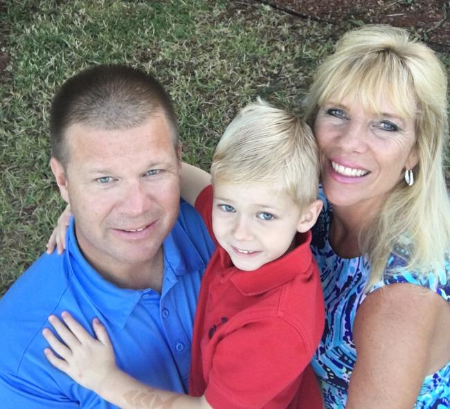 family photo of the Kildow family