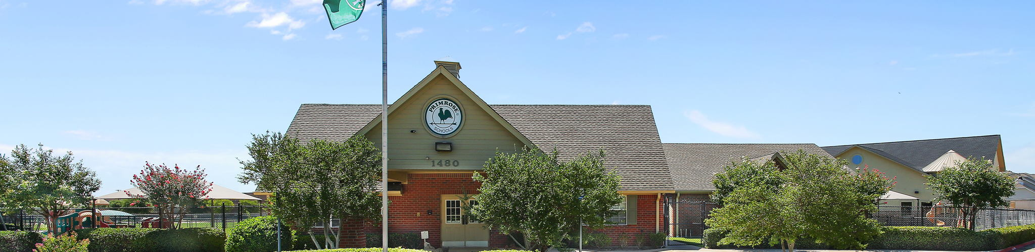 Exterior of a Primrose School of North Lewisville