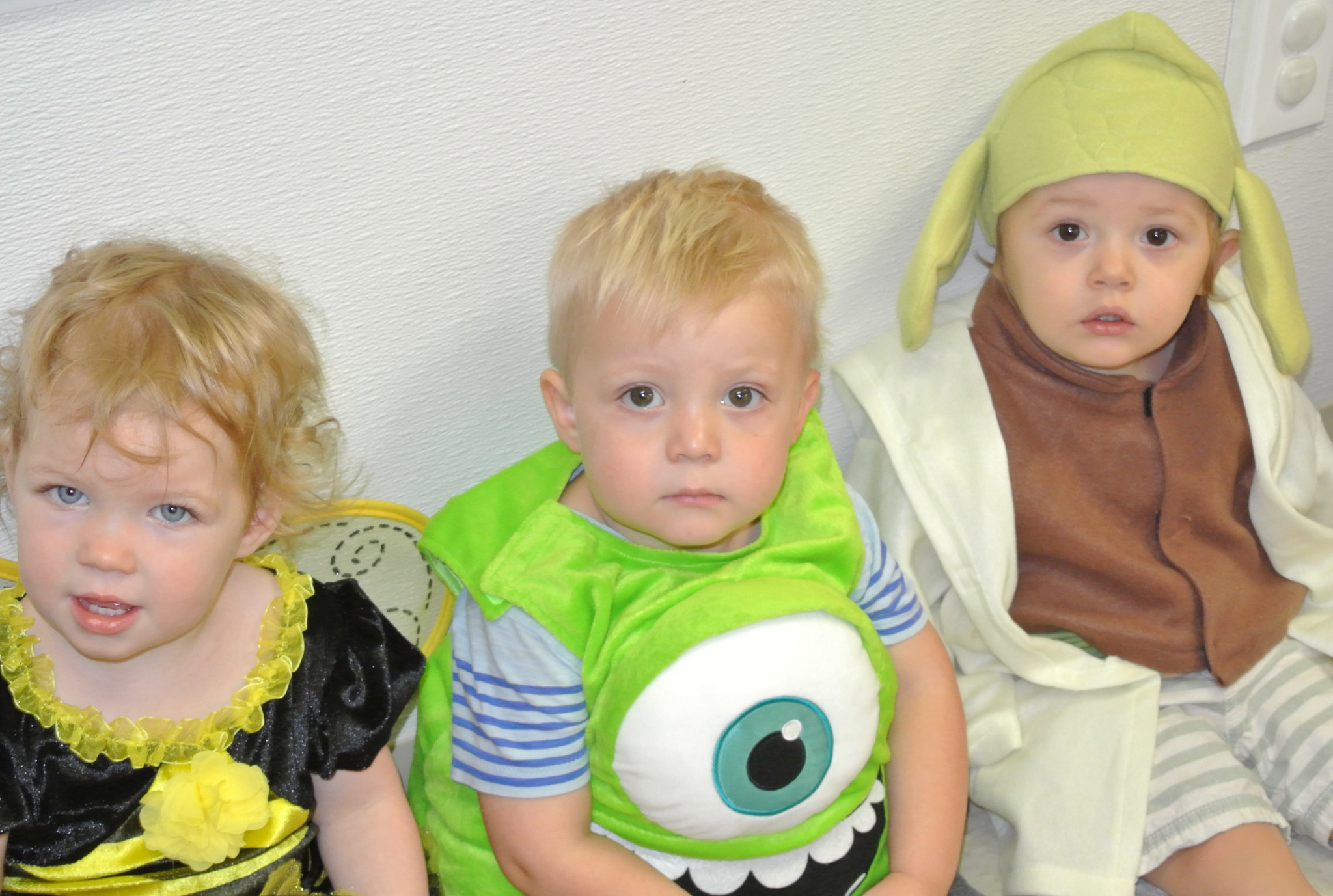 Primrose students in colorful Halloween costumes