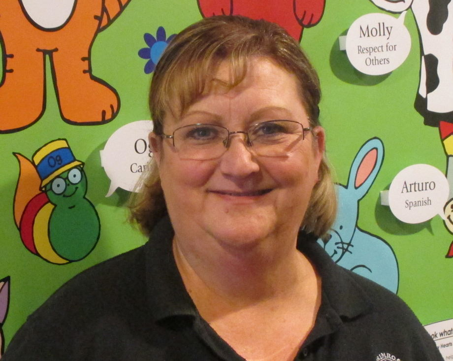 Mrs. Cathy Weatherly, Infant Room Assistant Teacher