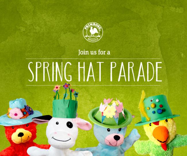 Primrose School of Heritage Wake Forest Spring Hat Parade and Egg Hunt