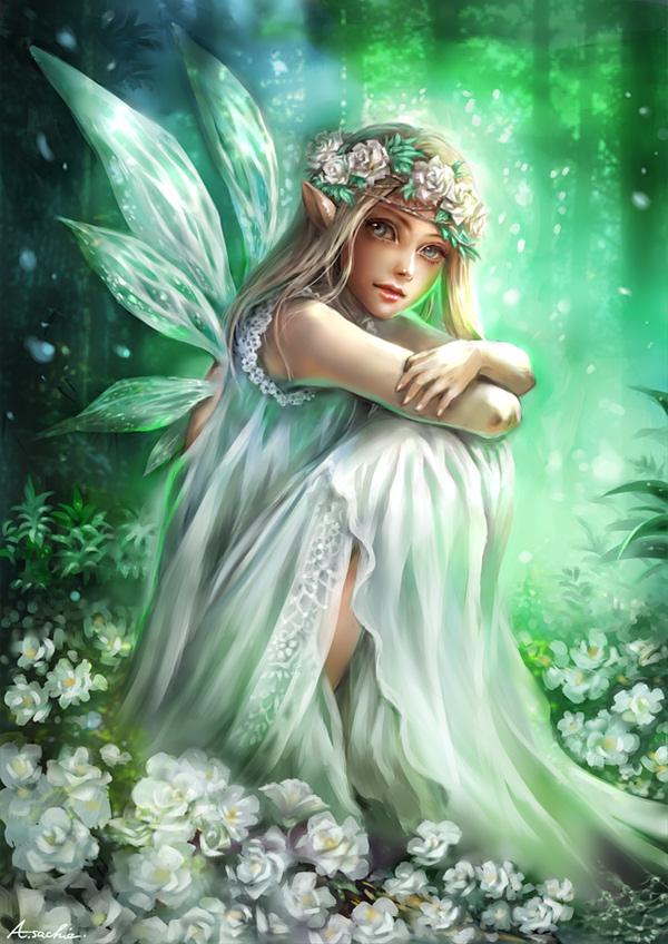 『新緑のフェアリー』