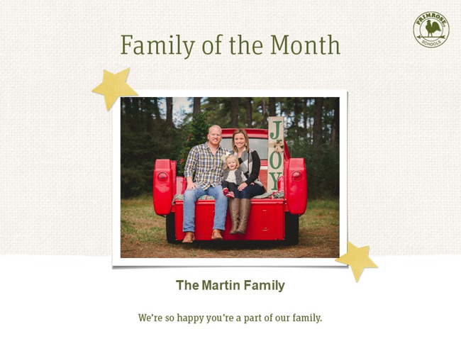 Picture of the Martin Family