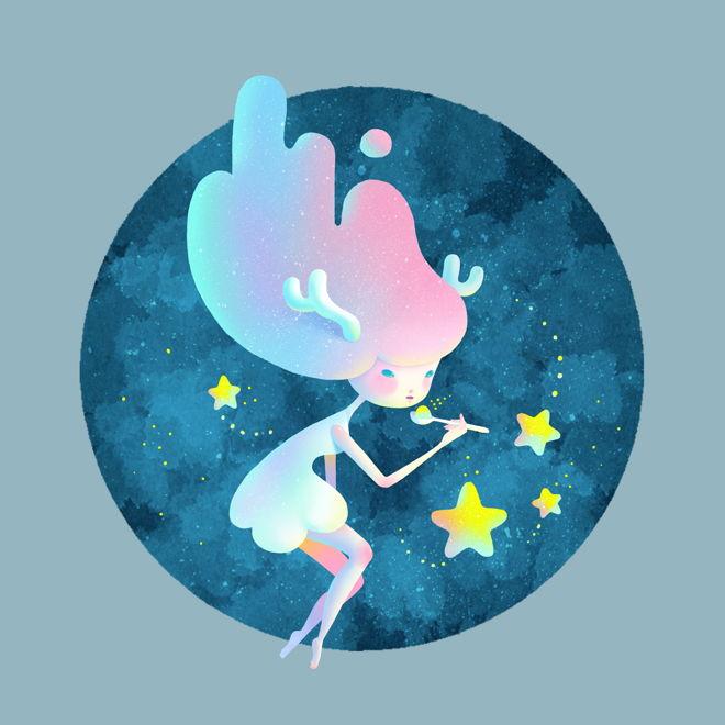Eat sweet stars