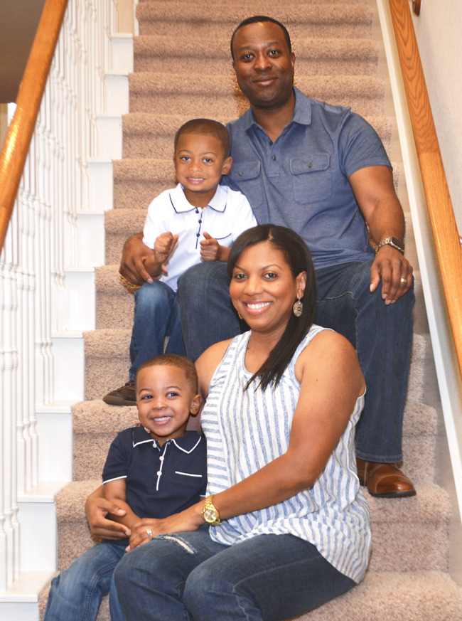 The King family, family of the month for March