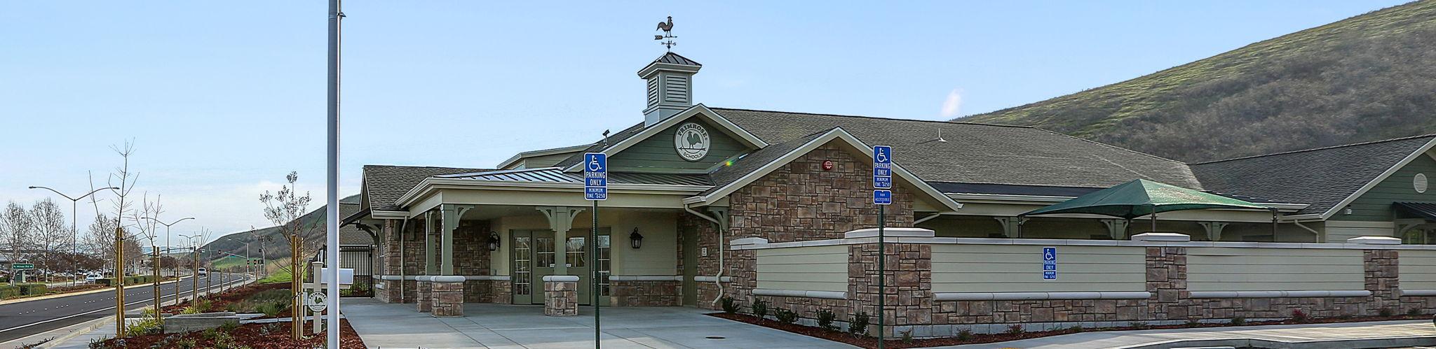 exterior image of Primrose School of Livermore