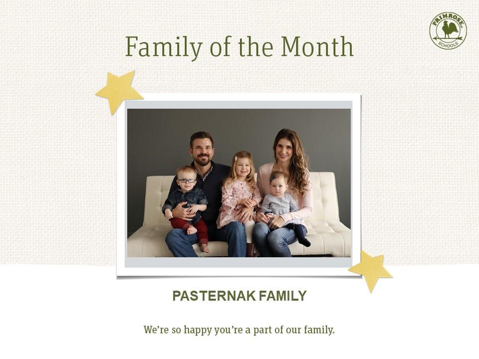 Pasternak Family