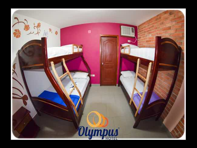 Estilo y Confort en Hotel Olympus :: Montañita!!-Montañita