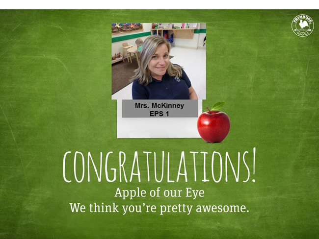 Picture apple of Our Eye