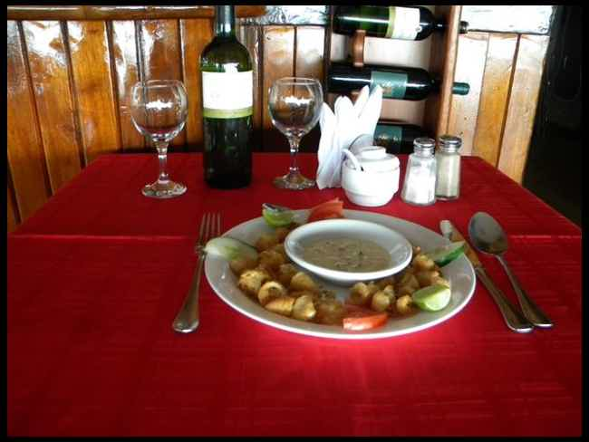 Restaurant Mar Azul-Salinas