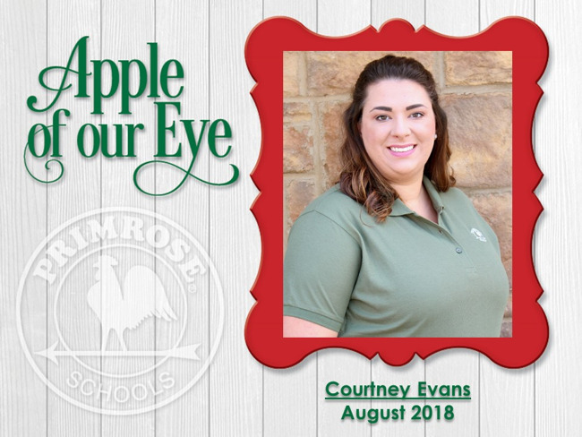 Courtney Apple of Our Eye