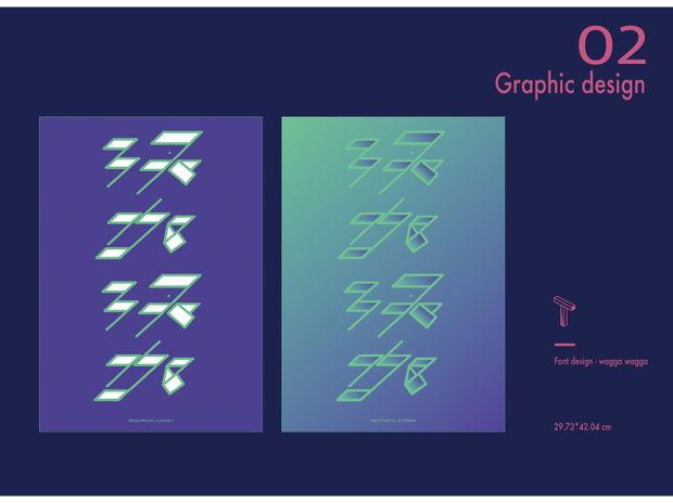Font Design - Wagga Wagga