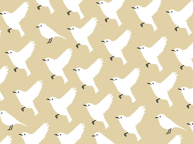 ブックカバー《鳥》Bookcover [bird]