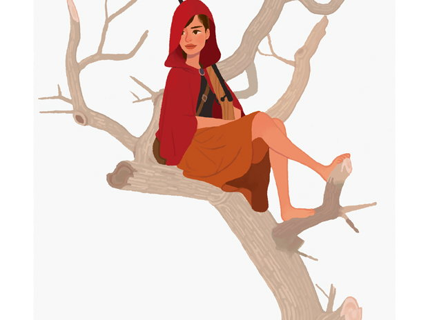 Red Riding Hood Girl