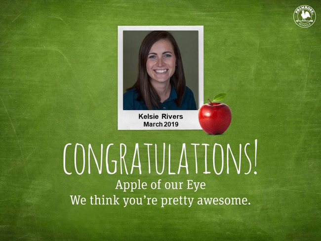 kelsie rivers apple of our eye march 2019