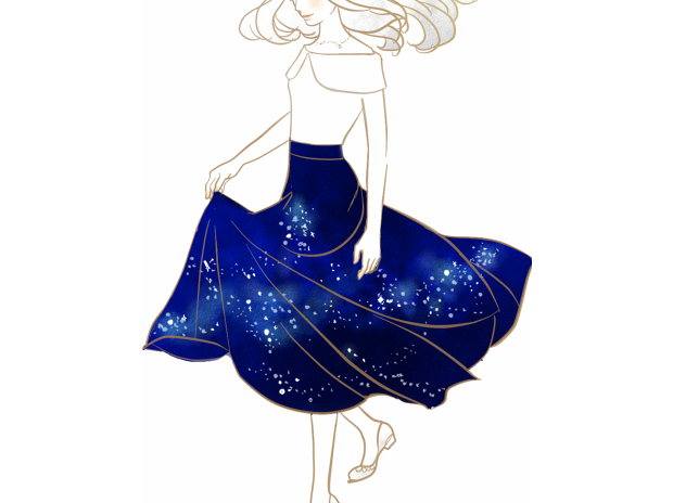 夜空のスカート