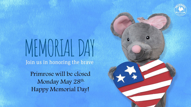 Mia Mouse Memorial Day!