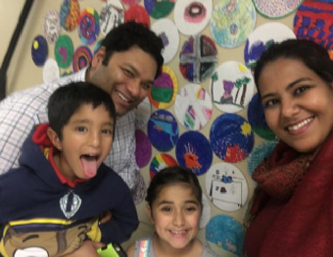 The Rahman Family