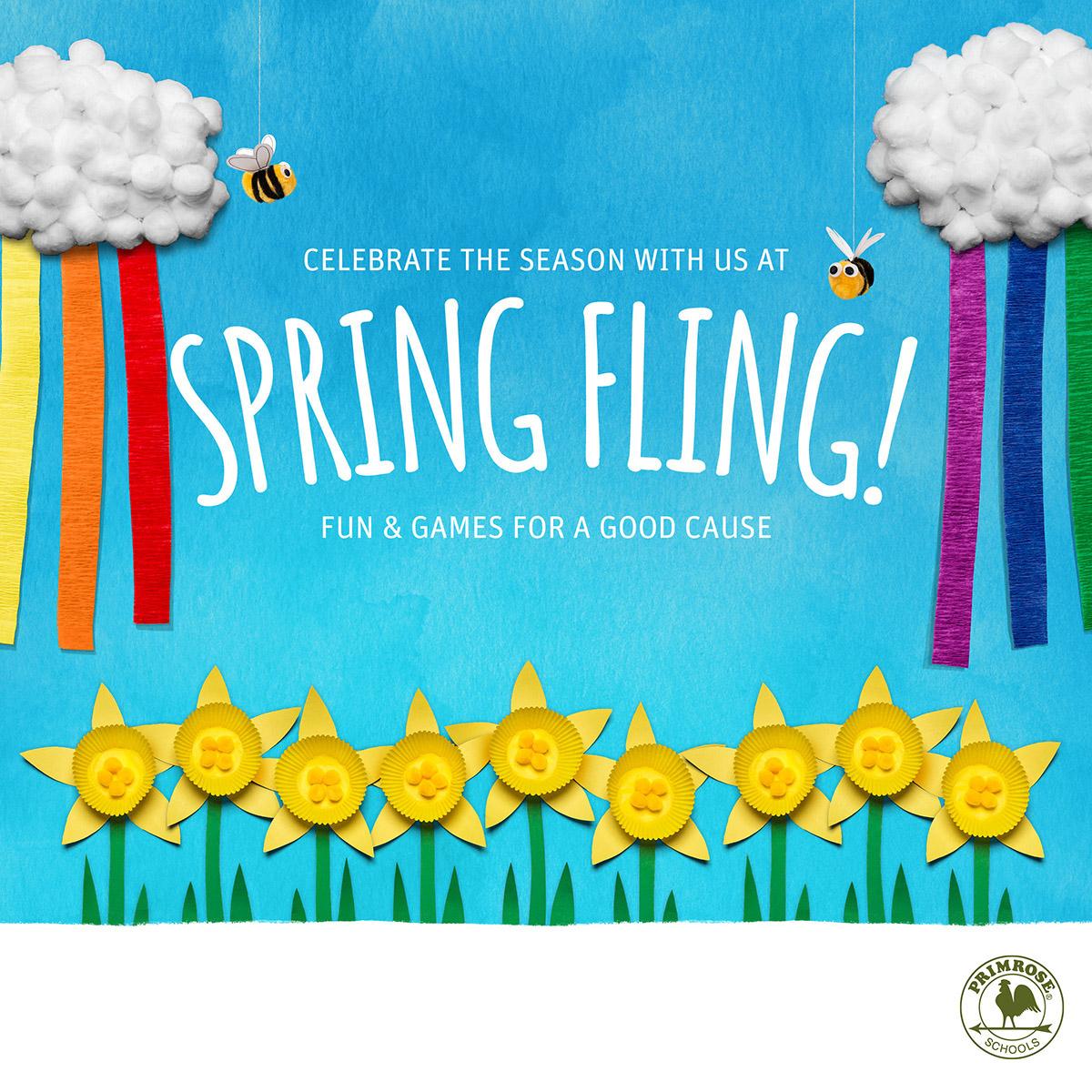 Spring Fling is April 27th