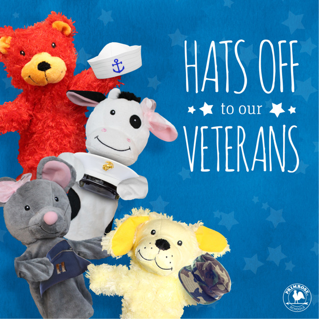 Hats off to our Veterans!