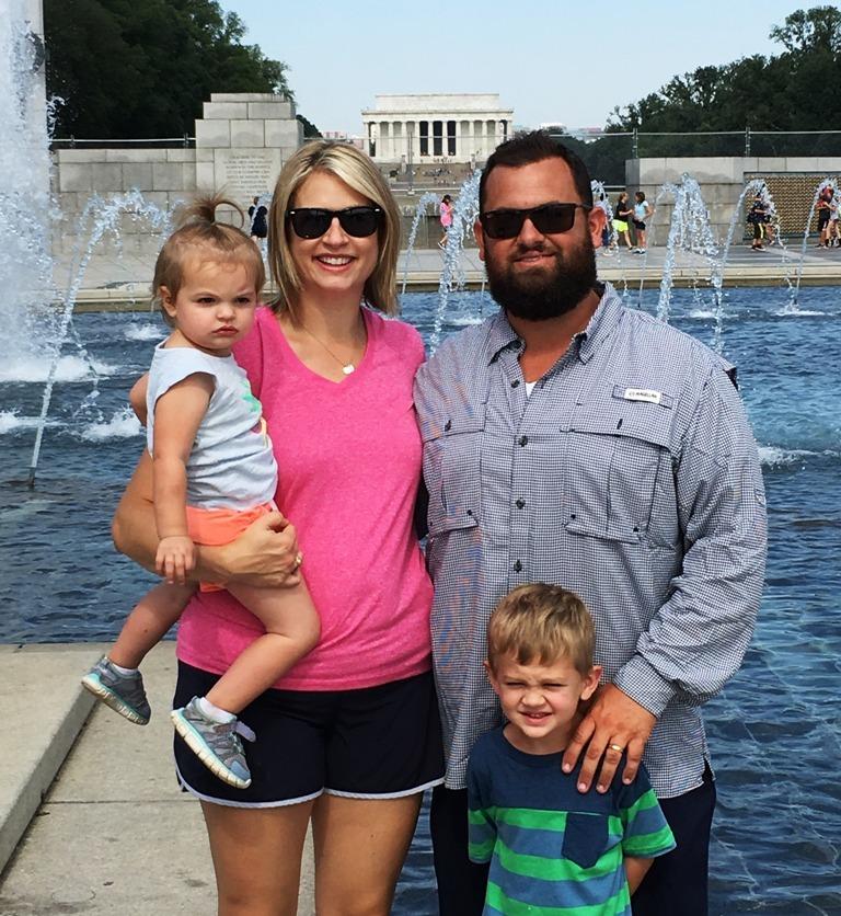 The Derrington family, family of the month for September