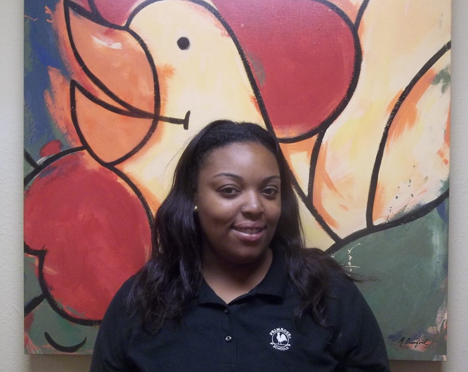 Ms. V. Williams, Infant Assistant Teacher