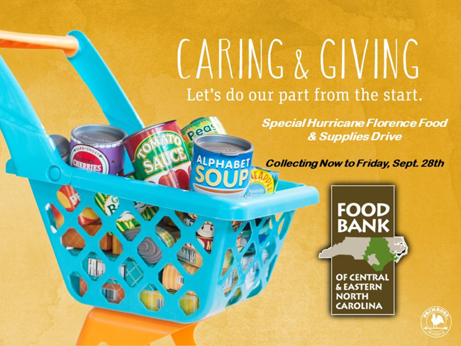 Caring and Giving event
