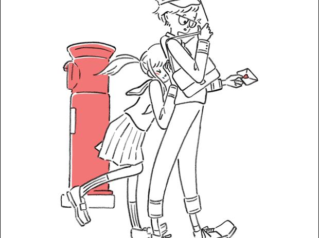 「郵便ですか?」「いいえあなたに 郵便屋さん」