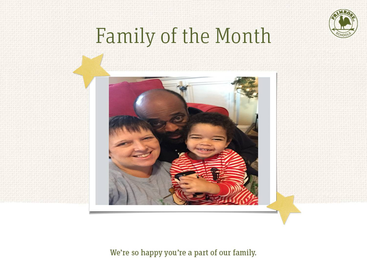 The Godwin family, family of the month