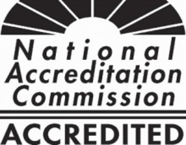 NAC Accredited logo