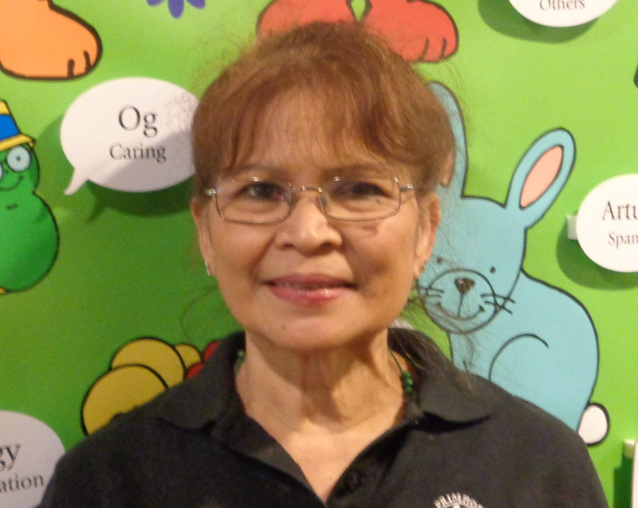 Mrs. Judy Corriente, Kitchen Chef