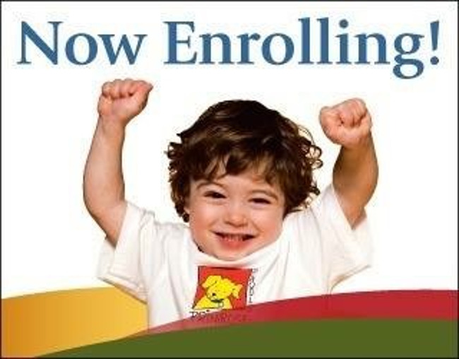 Now Enrolling Pic