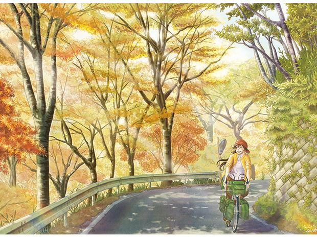 秋の旧道 / The old road in autumn