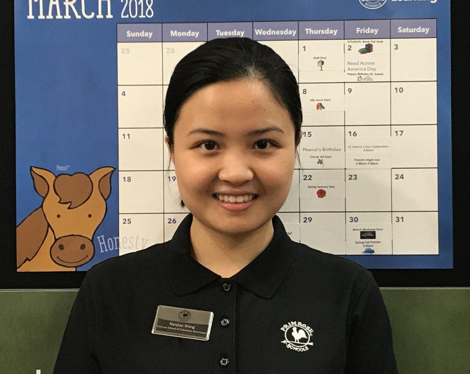 Ms. Nanjiao Wang , Preschool Teacher