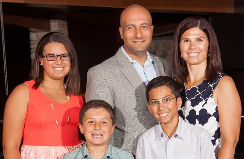 Franchise Owners of Primrose School Natosha and Ehab Eskander with family