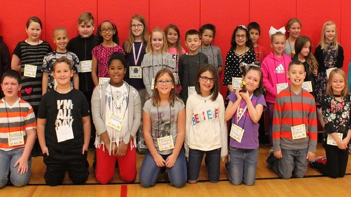 SES Spelling Bee Participants