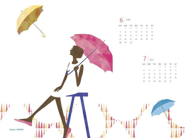 2015年6-7月カレンダー