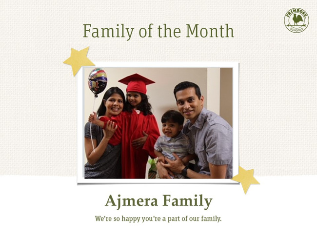 Family of the month picture